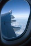 παράθυρο αεροπλάνων Στοκ φωτογραφίες με δικαίωμα ελεύθερης χρήσης