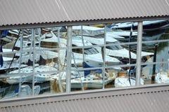 παράθυρο αντανάκλασης μα Στοκ Εικόνες