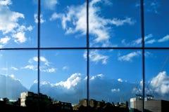 παράθυρο αντανάκλασης Στοκ Εικόνα