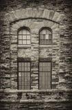 παράθυρο αποθηκών εμπορ&epsil Στοκ Εικόνα