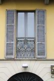 Παράθυρο από Como, Ιταλία στοκ φωτογραφίες με δικαίωμα ελεύθερης χρήσης