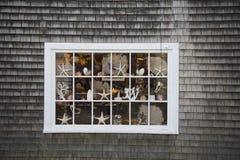 παράθυρο βακαλάων ακρωτ&et Στοκ Εικόνα
