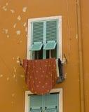 παράθυρο βιλών της Τοσκάν&eta Στοκ Φωτογραφία