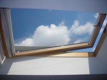 παράθυρο γραφείων Στοκ εικόνα με δικαίωμα ελεύθερης χρήσης