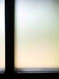 Παράθυρο γυαλιού θαμπάδων Στοκ φωτογραφία με δικαίωμα ελεύθερης χρήσης