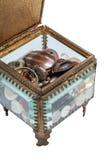 Παράθυρο γυαλιού με τα κουμπιά Στοκ φωτογραφία με δικαίωμα ελεύθερης χρήσης