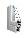 παράθυρο δειγμάτων 3 PVC Στοκ Εικόνες