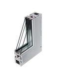 παράθυρο δειγμάτων 7 PVC Στοκ Φωτογραφία
