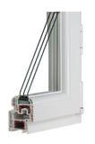 παράθυρο δειγμάτων PVC Στοκ Εικόνα