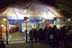Παράθυρο εισιτηρίων τσίρκων Στοκ Φωτογραφίες