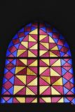 Παράθυρο εκκλησιών Colorido στη Λισσαβώνα στοκ εικόνες