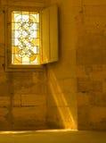 παράθυρο ελαφριών ακτίνων Στοκ Εικόνα