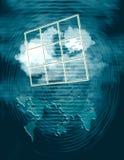 παράθυρο ευκαιρίας Στοκ Φωτογραφία