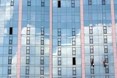 παράθυρο καθαριστών Στοκ Φωτογραφίες