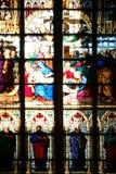 Παράθυρο καθεδρικών ναών της Κολωνίας Στοκ Εικόνες