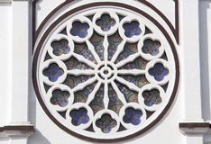 Παράθυρο καθεδρικών ναών Στοκ φωτογραφία με δικαίωμα ελεύθερης χρήσης
