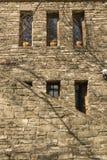 Παράθυρο και παλαιά πέτρα στοκ εικόνες