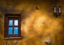 Παράθυρο και φω'τα στοκ φωτογραφία