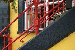 παράθυρο κιγκλιδωμάτων Στοκ Φωτογραφία