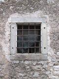 παράθυρο κιγκλιδωμάτων Στοκ Εικόνα