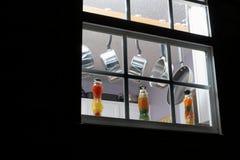 παράθυρο κουζινών Στοκ Εικόνα