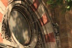 Παράθυρο κύκλων στοκ φωτογραφίες