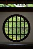 παράθυρο κύκλων Στοκ φωτογραφίες με δικαίωμα ελεύθερης χρήσης