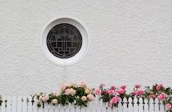 Παράθυρο κύκλων Στοκ φωτογραφία με δικαίωμα ελεύθερης χρήσης