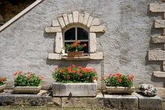 παράθυρο λουλουδιών Στοκ φωτογραφίες με δικαίωμα ελεύθερης χρήσης