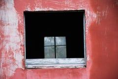 Παράθυρο μέσω ενός παραθύρου Στοκ Εικόνα