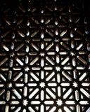 Παράθυρο μουσουλμανικών τεμενών Στοκ Φωτογραφίες