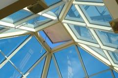 παράθυρο ουρανού Στοκ Εικόνα