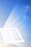 παράθυρο ουρανού Στοκ φωτογραφίες με δικαίωμα ελεύθερης χρήσης