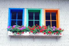παράθυρο παραθυρόφυλλων στοκ εικόνες με δικαίωμα ελεύθερης χρήσης