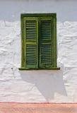 παράθυρο παραθυρόφυλλω Στοκ φωτογραφία με δικαίωμα ελεύθερης χρήσης