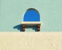 παράθυρο πλίθας Στοκ εικόνες με δικαίωμα ελεύθερης χρήσης