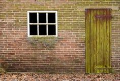 παράθυρο πορτών Στοκ εικόνα με δικαίωμα ελεύθερης χρήσης