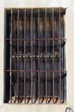 παράθυρο ράβδων Στοκ Φωτογραφίες