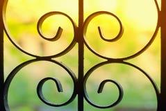 παράθυρο ράβδων στοκ φωτογραφία με δικαίωμα ελεύθερης χρήσης