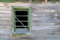 παράθυρο ράβδων στοκ φωτογραφία