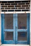 Παράθυρο σε ένα εγκαταλειμμένο σπίτι Στοκ φωτογραφίες με δικαίωμα ελεύθερης χρήσης