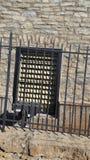Παράθυρο σιδήρου στοκ φωτογραφία με δικαίωμα ελεύθερης χρήσης