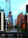 Παράθυρο στην πόλη στοκ φωτογραφία με δικαίωμα ελεύθερης χρήσης