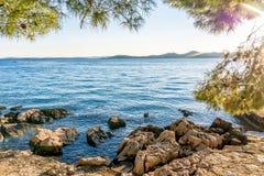 Παράθυρο στη θάλασσα Στοκ εικόνες με δικαίωμα ελεύθερης χρήσης