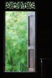 Παράθυρο στη φύση Στοκ φωτογραφία με δικαίωμα ελεύθερης χρήσης