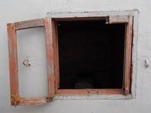 Παράθυρο στο Μαρόκο Κασαμπλάνκα Αφρική Στοκ εικόνα με δικαίωμα ελεύθερης χρήσης