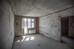 παράθυρο στο νέο δωμάτιο Στοκ Εικόνα