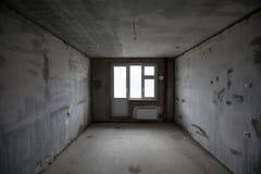 παράθυρο στο νέο δωμάτιο Στοκ φωτογραφία με δικαίωμα ελεύθερης χρήσης