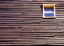 Παράθυρο στο ξύλο Στοκ Εικόνα