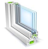 παράθυρο σχεδιαγράμματος Στοκ φωτογραφία με δικαίωμα ελεύθερης χρήσης